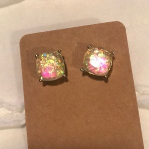 Jewelry - Iridescent Glitter Earrings